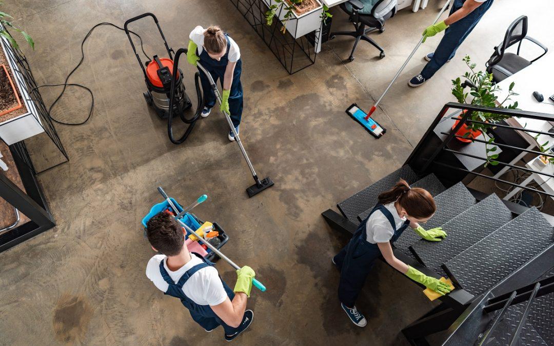 Entreprise de nettoyage pour les particuliers