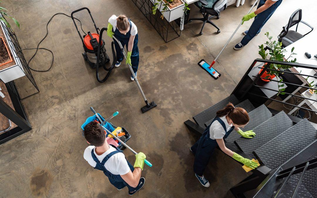 Société de nettoyage – comment faire le tri ?