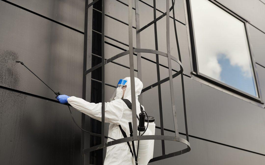 Nettoyage de maison : nettoyer sa façade