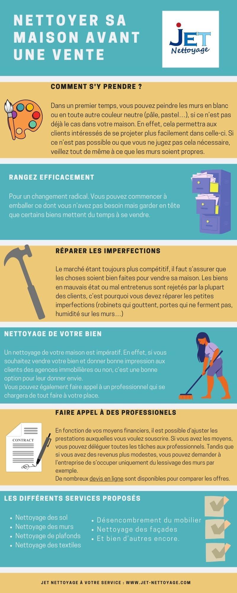 Comment nettoyer sa maison avant une vente