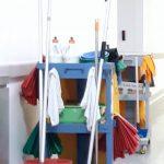 matériel de nettoyage industriel - chariot de ménage