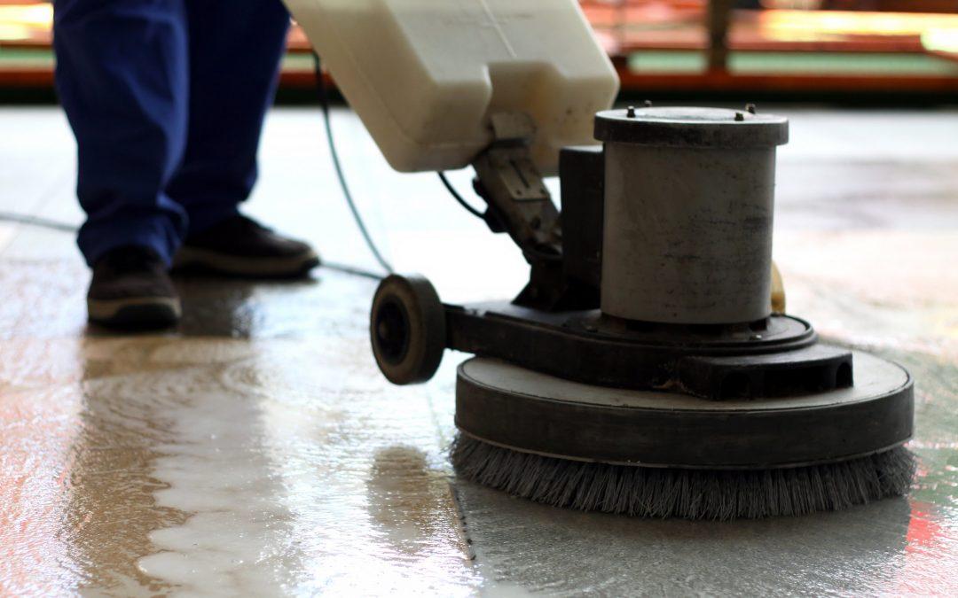 Matériel de nettoyage industriel - monobrosse